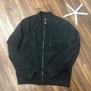 H&M Nylon Bomber Jacket